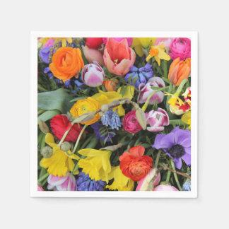Het boeket van de lente door Thespringgarden Wegwerp Servet