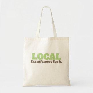 Het boerderij, ontmoet het Lokale Bolsa van de Draagtas