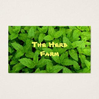 Het Boerderij van het kruid Visitekaartjes