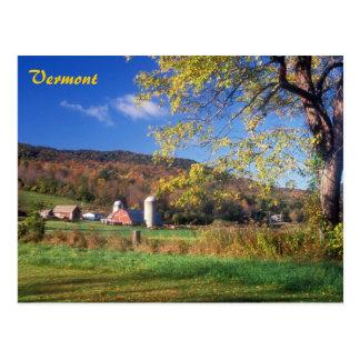 Het Boerderij van Vermont Briefkaart