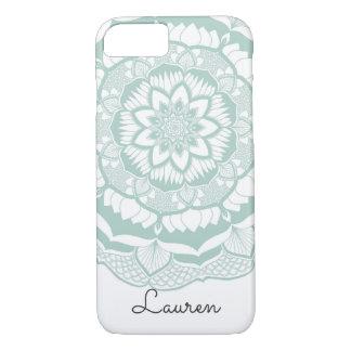 Het Boheemse Elegante Patroon van Mehendi Mandala iPhone 8/7 Hoesje