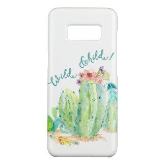 Het Boheemse Wilde Art. van de Cactus van de Veer Case-Mate Samsung Galaxy S8 Hoesje