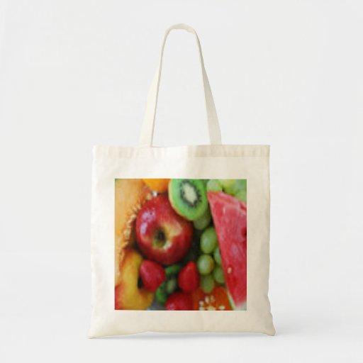 Het Bolsa van de Kruidenierswinkel van het fruit Canvas Tas