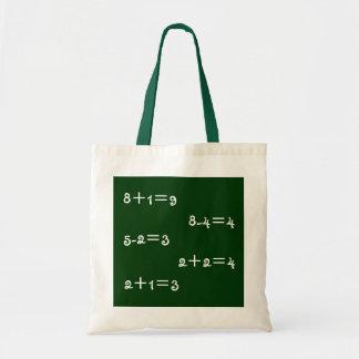 Het bolsa van de wiskunde draagtas