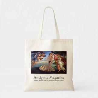 Het Bolsa van het Tijdschrift van Antigone (grijs  Budget Draagtas