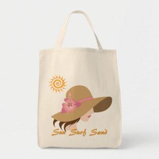 Het Bolsa van het Zand van de Branding van de zon Draagtas