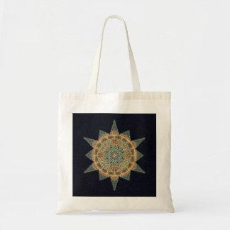 Het Bolsa van Mandala van de Ster van het leven Draagtas