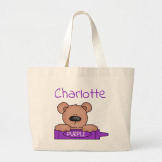Het Bolsa van Teddybear van Charlotte Grote Draagtas