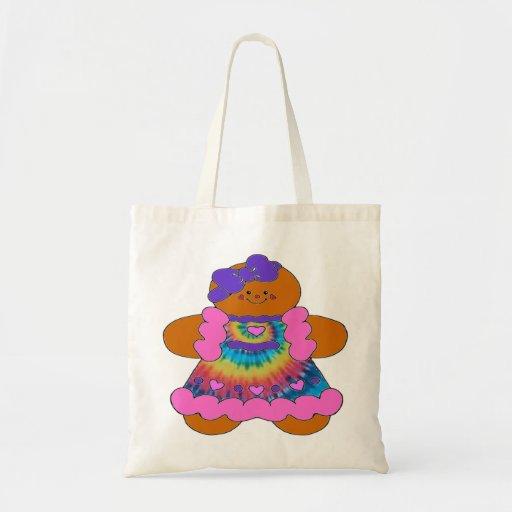 Het bolsazak van de Hippie van de peperkoek Canvas Tas