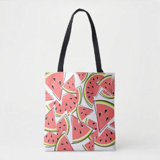 Het bolsazak van de watermeloen draagtas