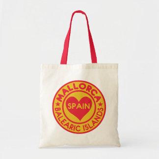Het bolsazakken van MALLORCA Spanje Budget Draagtas