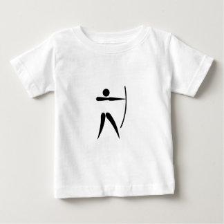 Het Boogschieten van het team Baby T Shirts