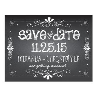Het bord bewaart het Briefkaart van het Huwelijk
