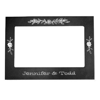 Het bord kijkt Lijst van de Foto van het Huwelijk Magnetisch Fotolijstje