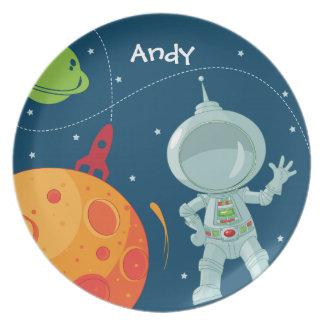 Het Bord van de Astronaut van de kosmische ruimte