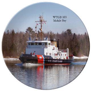 Het bord van de Baai WTGB 103 Moblie Porselein Bord