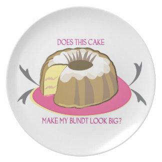Het Bord van de cake: Groot maakt Deze Cake Mijn B