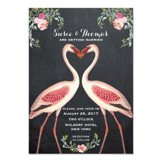 Het bord van de het huwelijksuitnodiging van de 12,7x17,8 uitnodiging kaart
