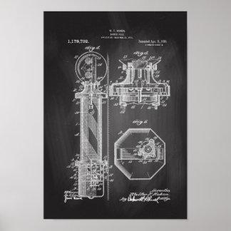 Het Bord van de Illustraties van het Octrooi van Poster