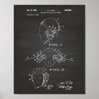 Het Bord van de Kunst van het Octrooi van het Polo Poster