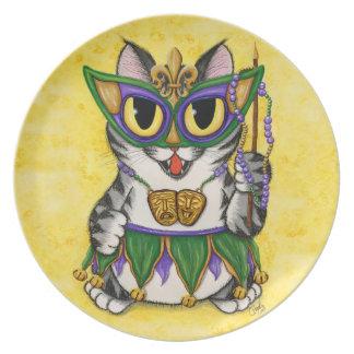 Het Bord van de Kunst van New Orleans van de Kat