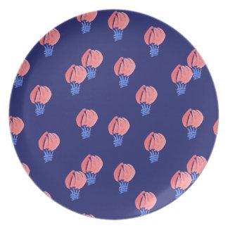 Het Bord van de Melamine van de Ballons van de