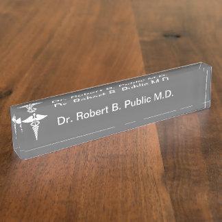 Het Bord van de Naam van het Bureau van de Arts va