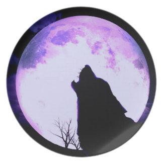 Het Bord van het Gehuil van de wolf