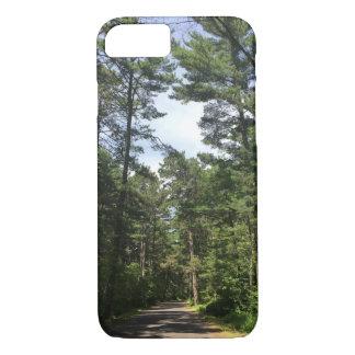 Het bos Hoesje van de Telefoon van de Weg