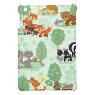 Het bos MiniHoesje van Apple van Dieren iPad Hoesje Voor iPad Mini