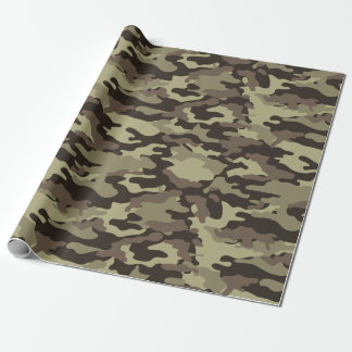 Het bos Modieuze Patroon van de Camouflage Inpakpapier