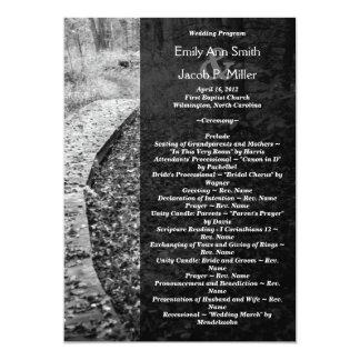 Het bos Programma van het Huwelijk van de Weg