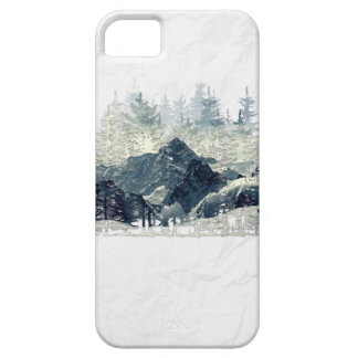 Het Bos van de winter Barely There iPhone 5 Hoesje