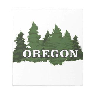 Het Bos van Oregon Notitieblok