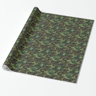 Het Bos Verpakkende Document Camo van het leger Inpakpapier