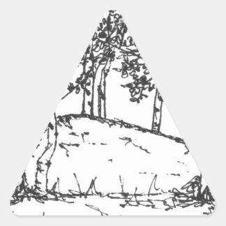 Het Bosje van de esp Stickers