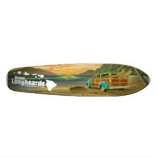 Het Bosrijke Skateboard Longboard van Maui Longboa