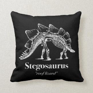 Het Bot van het Skelet van de Dinosaurus van Sierkussen