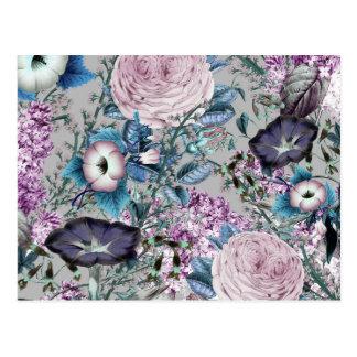 Het Botanische BloemenPatroon van de mooie Briefkaart