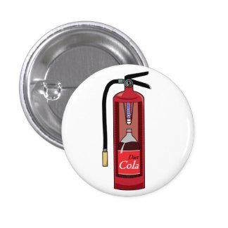Het Brandblusapparaat van de Soda van de Kola van Ronde Button 3,2 Cm