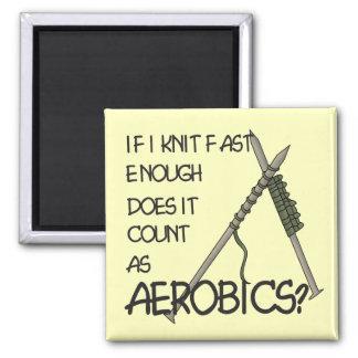 Het breien Aerobics Magneet