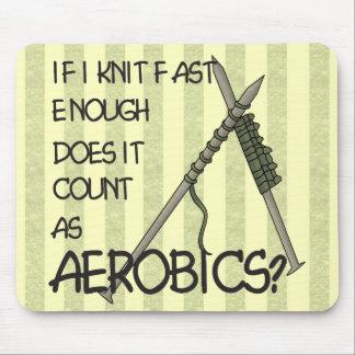 Het breien Aerobics Muismat