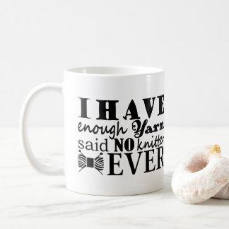 Het breien • Niet Genoeg Ambachten 2017 van het Koffiemok
