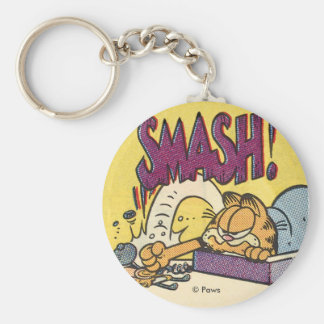 Het Breken van Garfield Klok, keychain Sleutelhanger