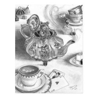 Het Briefkaart Alice van de slaapmuis in het