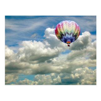 Het briefkaart - OMHOOG… Op… omhoog…