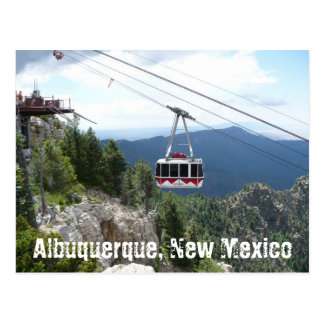 Het Briefkaart van Albuquerque, New Mexico