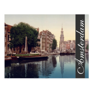 Het briefkaart van Amsterdam