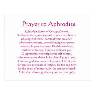 Het Briefkaart van Aphrodite