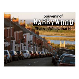 Het briefkaart van Barrywood